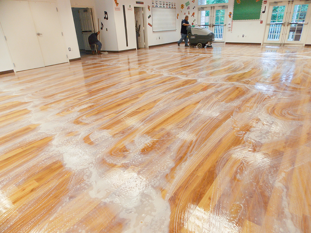Commercial wood flooring cleaning - Wood Floor Cleaning And Care - MGS Supply & Services